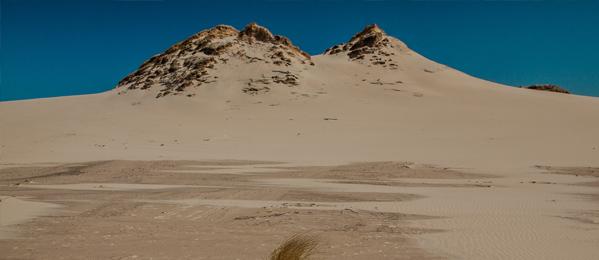 Największy pas ruchomych wydm